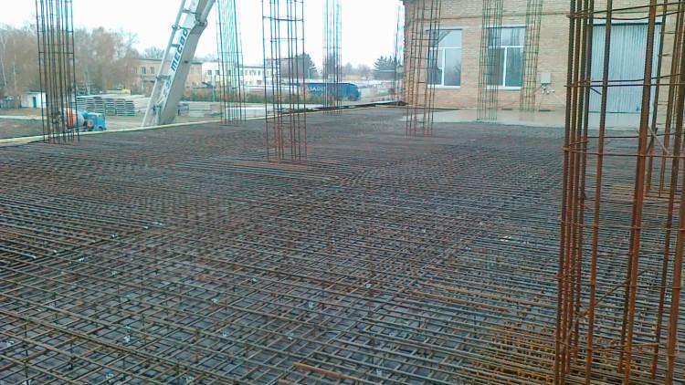 Монолитное строительство в г. Сквира